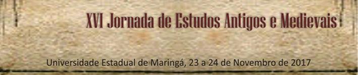 XVI Jornada de Estudos Antigos e Medievais